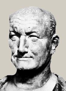 Cesarz Wespazjan - pierwszy, który dostrzegł, że na toaletach można zrobić pieniądze.